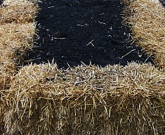 Straw-Bale-Raised-Bed